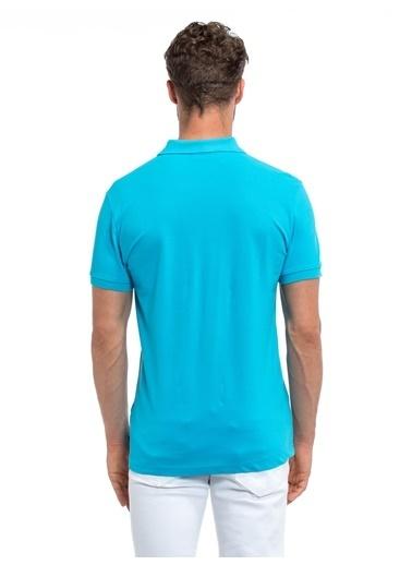 LC Waikiki Polo Yaka Tişört Mavi